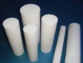 China Molded PTFE Teflon Rod , 3000mm Length PTFE Rod / Teflon Rods For Chemical on sale