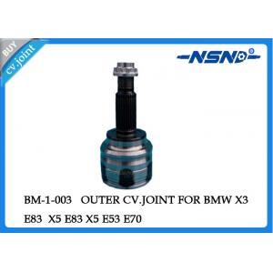 Steel Auto Cv Joint Cv Joint Driveshaft 31607529201 For X3 E83 X5 E53