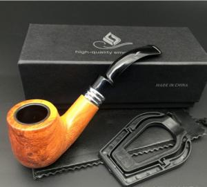 China On sale!Classic resin Pear partten pipe Wooden Smoking Tobacco Pipe wood pipes smoke pipes on sale