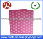 OEM Leak Proof Die Cut Handle Eco-friendly Plastic Bags For Gift