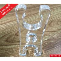 China 20 mm Thickness Custom Acrylic Products CNC Cutting Transparent Acrylic Block on sale