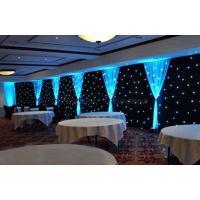 LED light screen backdrop led backdrop stage design  Led Star Cloth star curtain