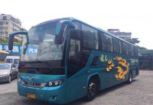 China HIGER 2012 Year Used Luxury Buses , Second Hand Tourist Bus With 49 Seats on sale