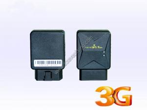 China Universal  WCDMA 3G GPS Tracker for Vehicles with OBD Reader Function support OEM and free APP on sale