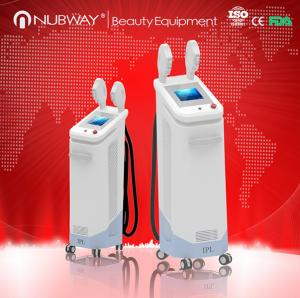 China Fast speed 10 Hz shr hair removal machine with big spot size of 16*50mm hgih power of 3000W on sale