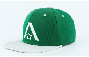 China Flat Bill Wholesale Baseball Caps 3d Embroidery Custom Snapback Hats on sale