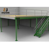 China Durable Industrial Mezzanine Floors / Boltless Rivet Shelving 5 Years Warranty on sale