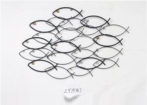 China Mid Century Fish Metal Wall Art Decor on sale