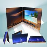 Foil Stamping High Resolution 4.3 Inch HD TFT Lcd Video Brochure Card