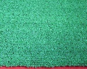 China Green Artificial Grass Carpet PP UV Resistant 2200Dtex on sale