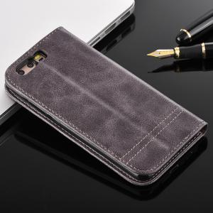 China Huawei P10 PLUS Magnetic Leather Case Heavy Duty Two Card Slot For Business on sale