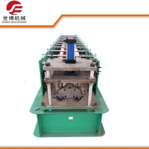 China 280 Model Galvanized Ridge Cap Cold Roll Forming Machine For Roof Panel on sale