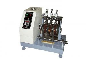 China Digital Rubber Nbs Abrasion Tester With ASTM-D1630 Shoe Sole Testing on sale