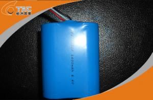 China IFR26650F 6400mAh 6.4V Power Tool Rechargeable Batteries with Long Life Cycle on sale