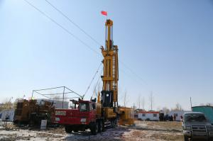 China Truck Mounted Hydraulic Drilling Rig CMD100 For Coalbed Gas Drilling on sale