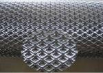 Decorative Expanded Metal Mesh Aluminum Material  For Curtain And Workshop Security