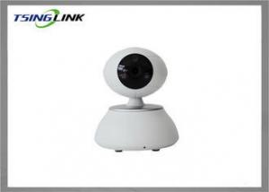 China Wireless indoor home security Cameras , HD PTZ IP Camera With SD Card Storage on sale