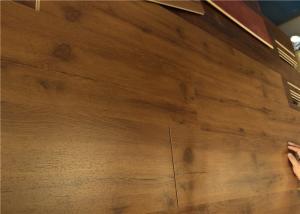 quality diy laminate flooring walnut wood floating laminate floor matte finish with locking click for