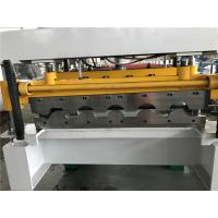 China Wall Panel Structure Tile Roll Forming Machine 70mm Shaft / 40GP Container on sale