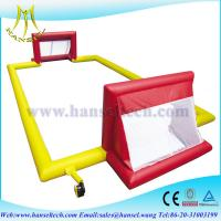 Hansel inflatable soccer filed inflatable soccer area inflatable soccer ball playground