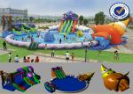 PVC 30M Inflatable above ground Water Parks