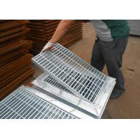 Galvanized Grating Trench Cover , Steel Driveway Drainage Grates