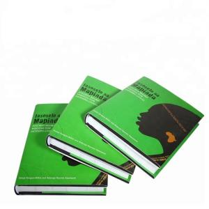 China A5 Size Journal Hardback Book Printing SGS Certification Aqueous Coating on sale