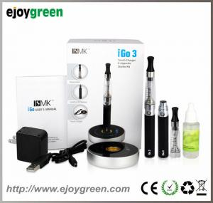 China 2014 latest Green Electronic Cigarette e-cigarette model iGo3 with touch charger on sale