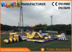 Anti - UV Giant Aquapark Inflatable Water Parks For Kids And Adults
