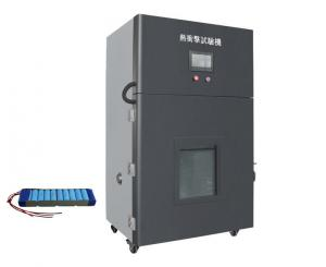 China IEC 62133 clause 7.3.5 / 8.3.4 Battery Thermal Abuse Tester Testing Battery in a Hot Air Circulation system on sale
