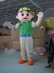 Quality custom made plush customized cartoon mascot costumes for adult for sale