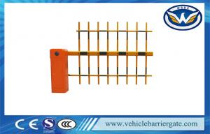 China Customized Auto Reverse Automatic Car Park Barriers With 3 Fence Arm on sale