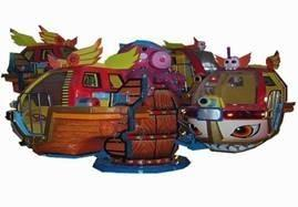 China Seabed Exploration Carousel Kiddie Ride Coin Operated For Kids GS-QF046 on sale