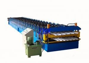 China Wall Panel / Roofing Corrugated Sheet Roll Forming Machine 23 Forming Group on sale