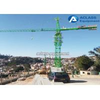 Hydraulic Tower Crane Heavy Equipment with VFD Control Undercarriage Foundation