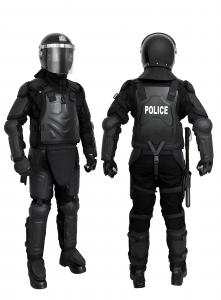 China Neck Protection Anti Riot Suit With Transportation Bag , Full Body Armor Suit on sale