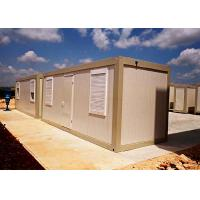 China Powder Coated Mobile Container Homes , Vacation Standard Moving Storage Containers on sale
