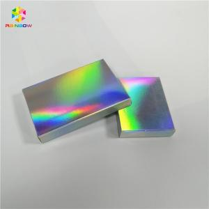 China Waterproof Hologram Custom Printed Paper Boxes Printed Eyelash Box Packaging on sale