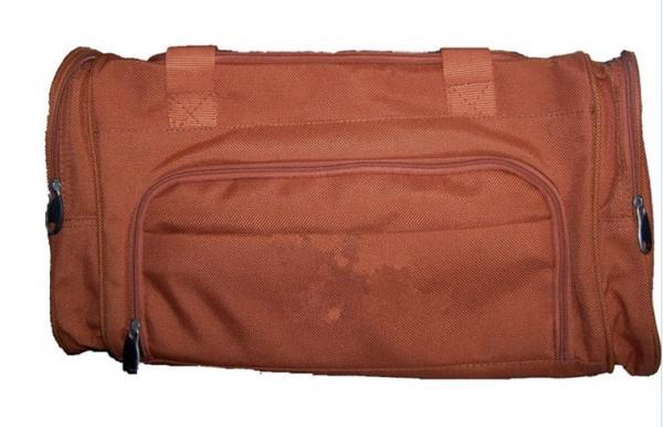 Brown Shoulder Strap Hanging Garment Travel Bag Clothes Storage Bags Images