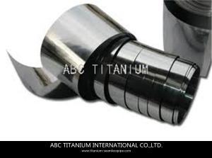 China titanium foil/test strip/mirror foil/loudspeaker diaphragm on sale