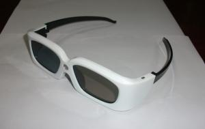China 120Hz DLP Active Shutter 3D TV Glasses For Projector With CR2032 Lithium Battery on sale