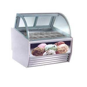 China 1200*1130*1350mm 12 Pans CE Ice Cream Display Chiller on sale