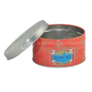 China Custom 0.88 oz colorful round metal tin box  for fruit green tea on sale