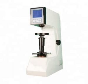 China Digital Rockwell Hardness Testing Machine , 220V 50Hz Metal Hardness Tester on sale