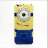Fashion Cute Despicable Me Pattern TPU Case Mobile Phone Soft Protective Cover