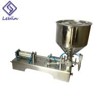 China Small Portable Liquid Filling Machine Table Top Liquid Filling Machine on sale