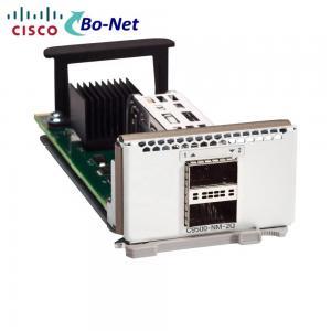China 24 Port Cisco Transceiver Module C9500-NM-2Q 9500 2 X 40GE Network Module Spare on sale