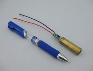 China 532nm 150mw Green Dot Laser Diode Module For Electrical Tools And Leveling Instruments on sale