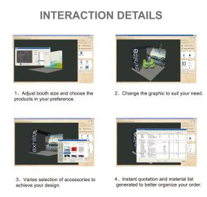 China Exhibition Booth Design Software on sale