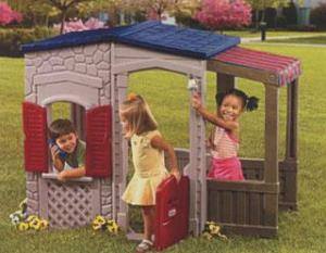 China Custom Clean Sun Cubby House Equipment Designs for Toddlers Play on sale